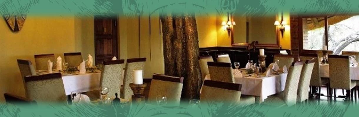 Imbali Safari Lodge Dining Room Area