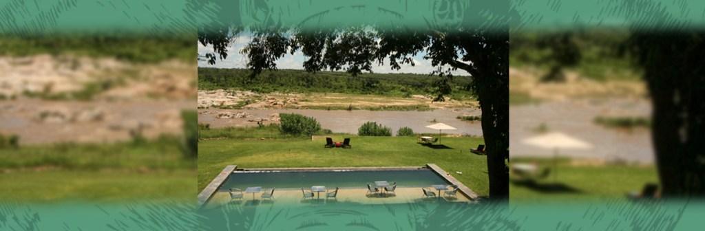 Mjejane River Lodge Pool Facilities