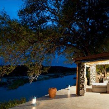 Kitara Night View of Interior Lounge