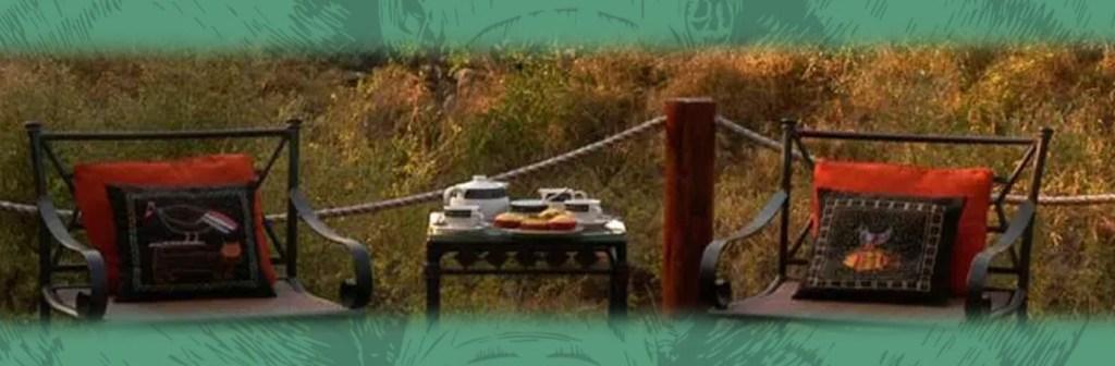 Hoyo Hoyo Safari Lodge Dining in the Wild