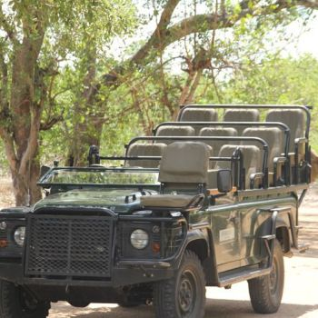 Machaton Private Camp Game Drive Vehicle