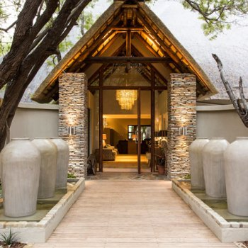 Amani Safari Camp Door Entrance