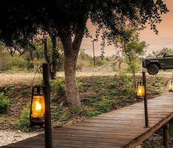 Amani Safari Camp Entrance