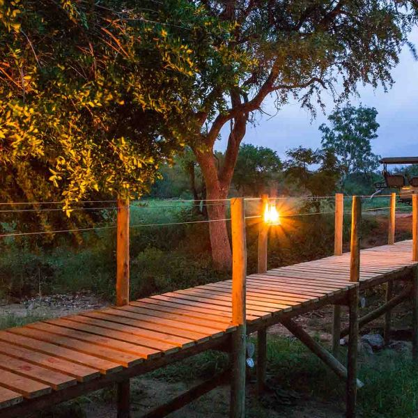 Amani Safari Camp Bridge