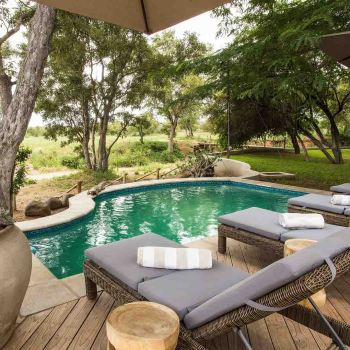 Amani Safari Camp Pool Entertainment Area