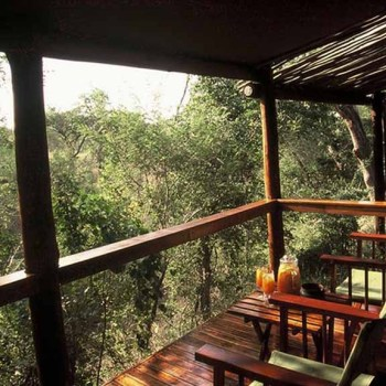 Chapungu Luxury Tented Camp Deck Seating