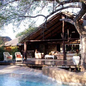 Chapungu Luxury Tented Camp Poolside Seating