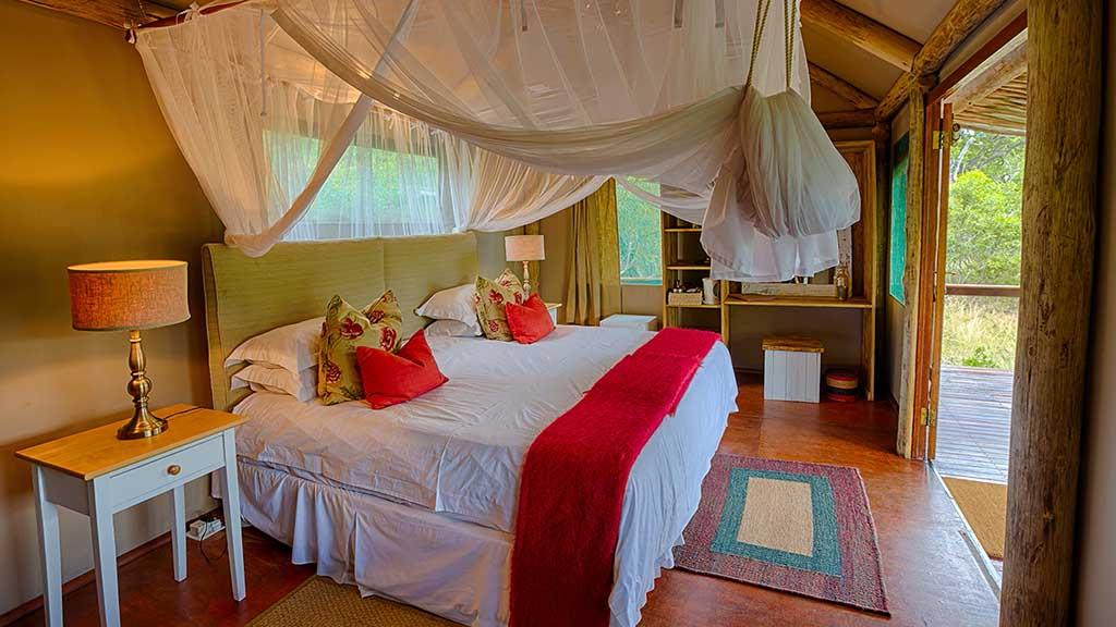 Chapungu Luxury Tented Camp Tent Interior Bed