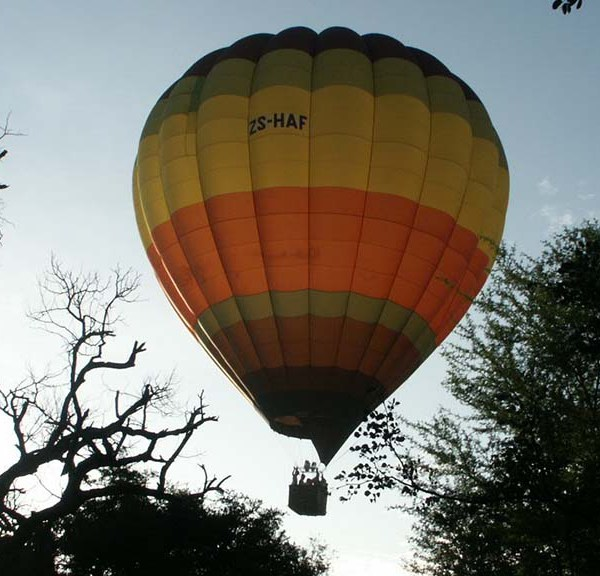 Jackalberry Lodge Balloon Safari