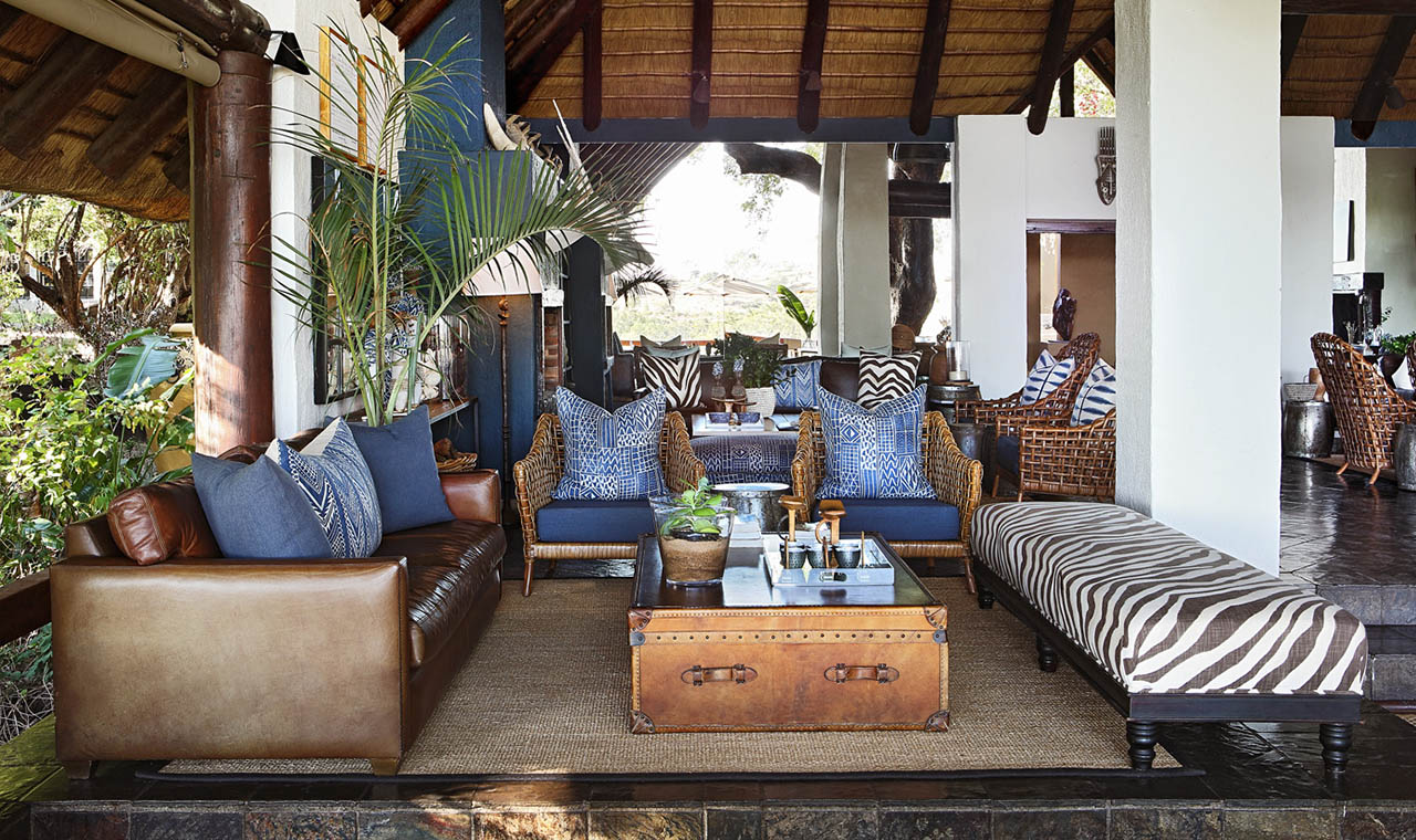 Londolozi Varty Camp Lounge