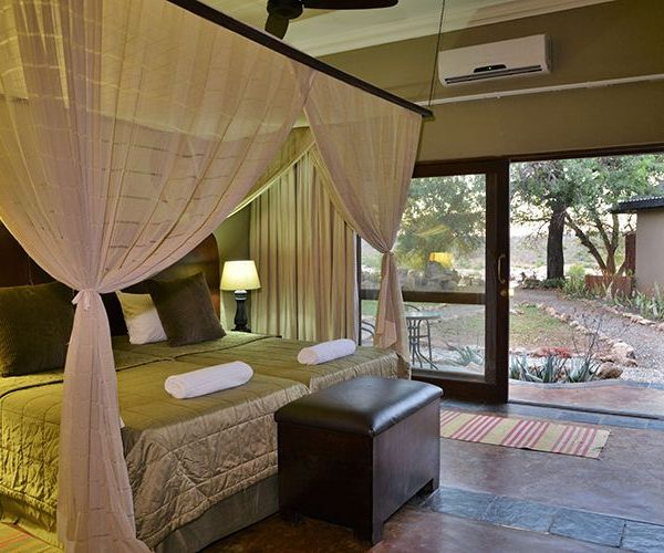 Mjejane River Lodge Double Bedroom
