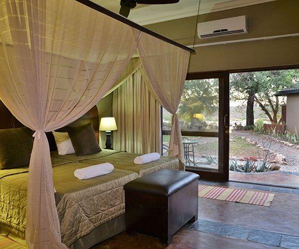 Mjejane River Lodge Double Bedroom
