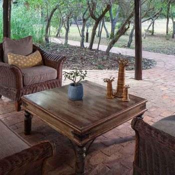 Monwana Game Lodge Gazebo Seating