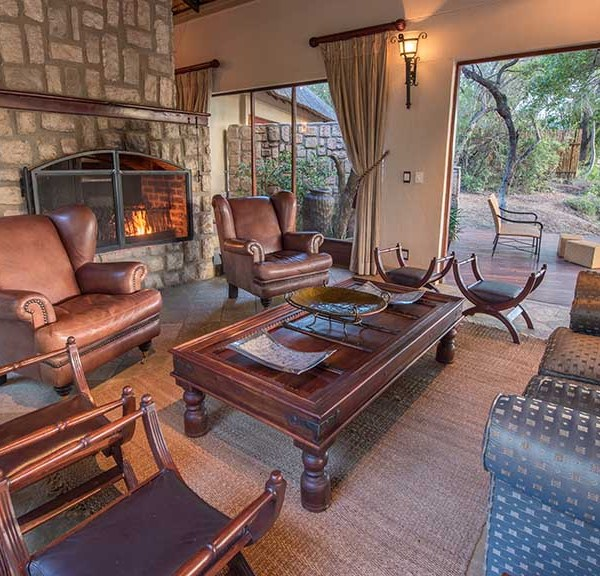 Shumbalala Game Lodge Presidential Suite Interior