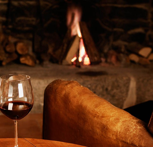 Shumbalala Game Lodge Wine by the Fire