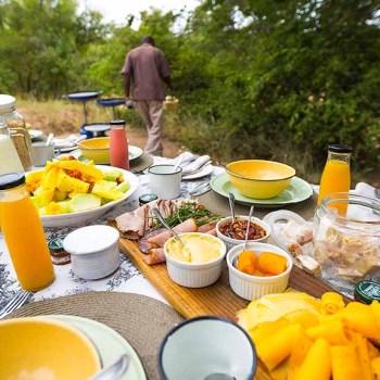 Thornybush Game Lodge Breakfast Buffet