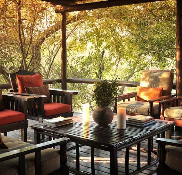 Waterbuck Game Lodge Deck Seating