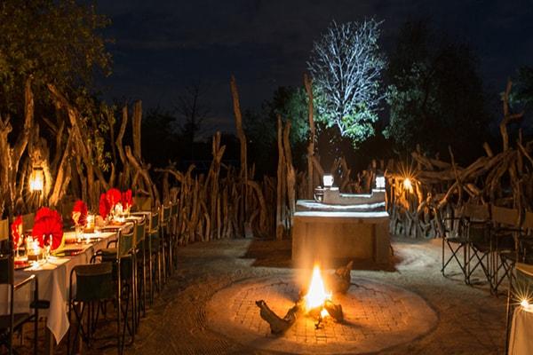 Baobab Ridge Boma Fire