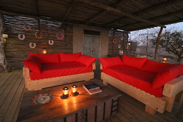 Baobab Ridge Suite Lounge Area