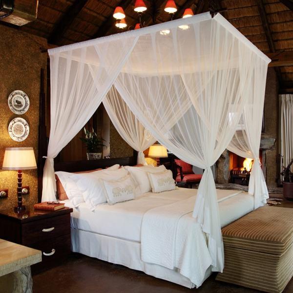Camp Jabulani Luxury Suite Bedroom