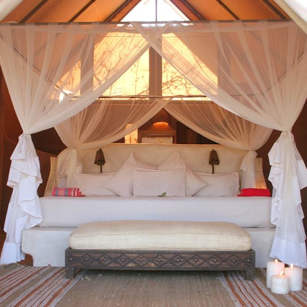 Garonga Safari Camp Luxury Tent Bed