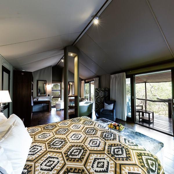 Kapama Buffalo Camp Tent Interior