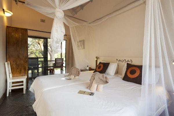 Kurhula Wildlife Lodge Guest Room Bedroom