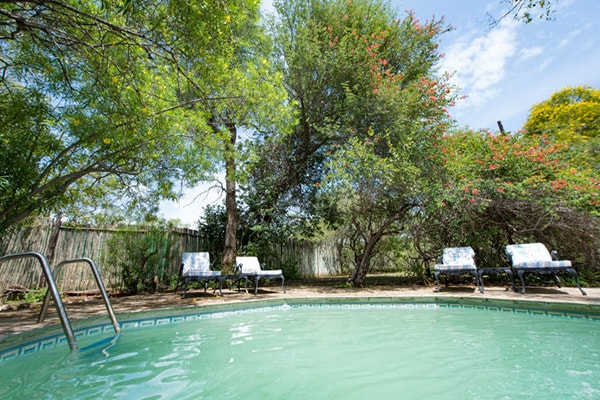 KwaMbili Game Lodge Pool Area