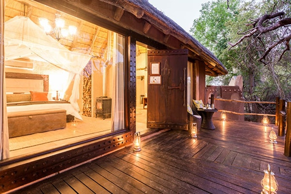 Makalali Private Game Lodge Suite Deck
