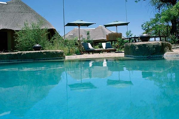 Makumu Luxury Safari Lodge Swimming Pool