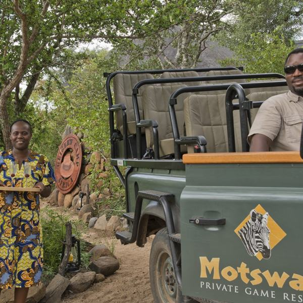 Motswari Geiger's Camp Game Drive Safari