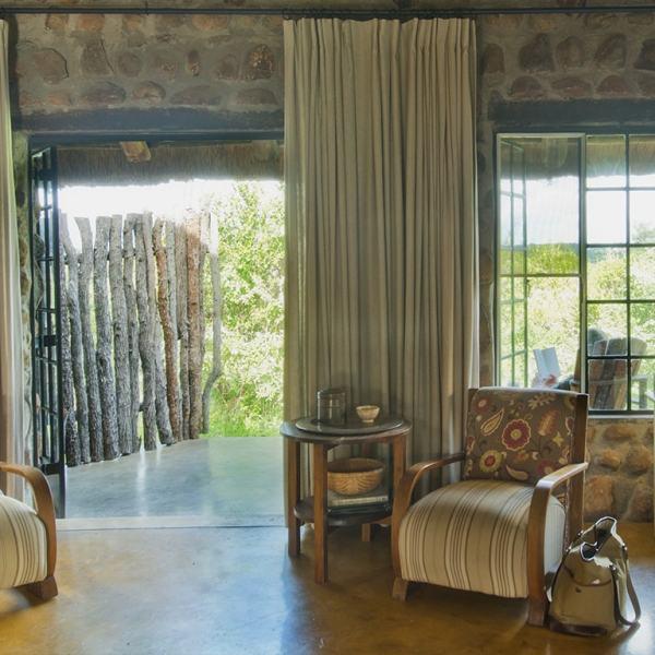 Motswari Geiger's Camp Private Bedroom Lounge