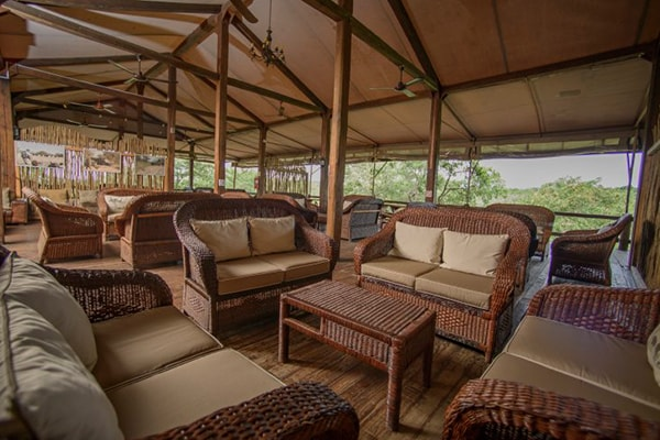 Nkambeni Safari Camp Lounge Area