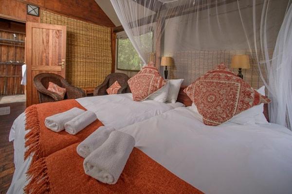 Nkambeni Safari Camp Tent Beds