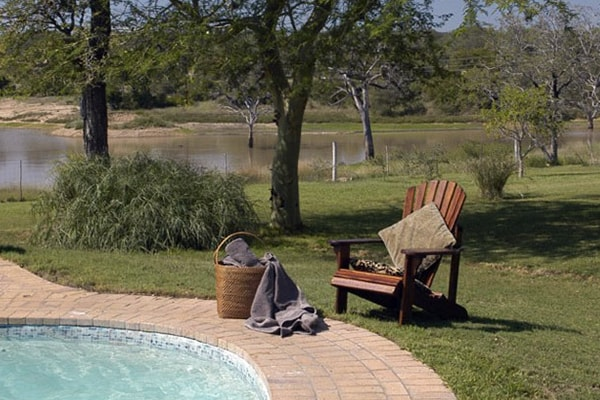 Nkelenga Tented Camp Pool Chair