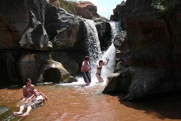 Pafuri River Camp Small Waterfall