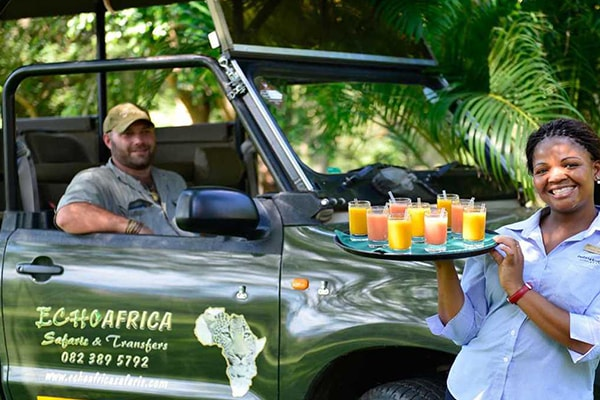 Pestana Kruger Lodge Game Drive Drinks