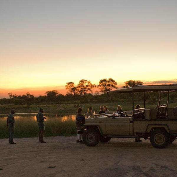 Rhino Post Safari Lodge Game Drive Safari