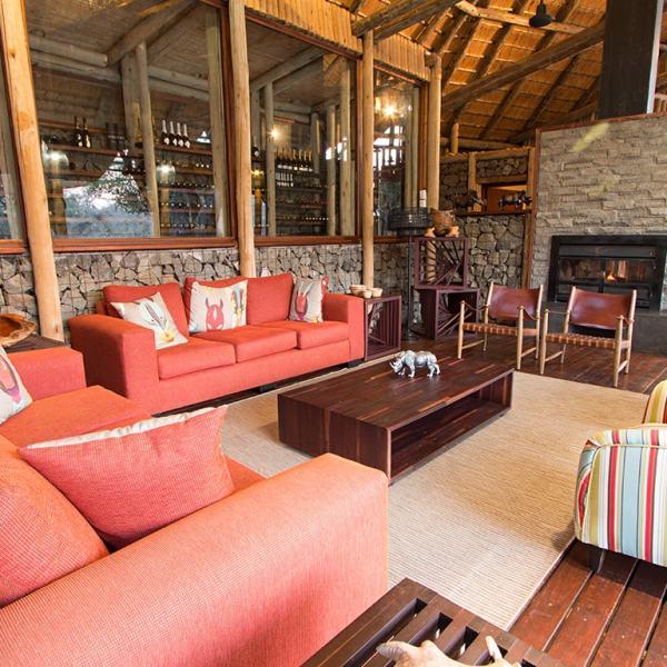 Rhino Post Safari Lodge Lounge