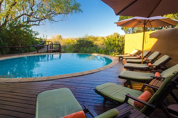 Shishangeni Private Lodge Pool