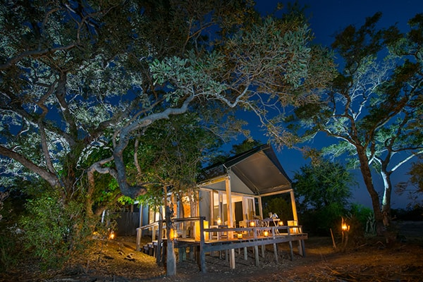 Simbavati River Lodge Luxury Safari Tent Exterior