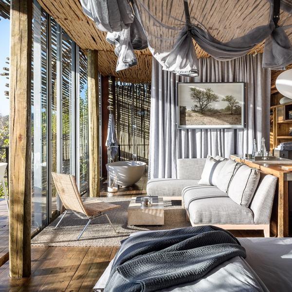 Singita Lebombo Lodge Bedroom