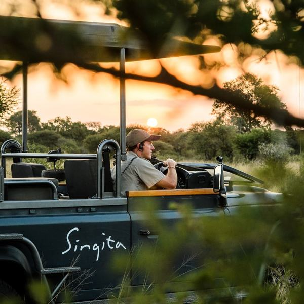 Singita Lebombo Lodge Game Drive Safari