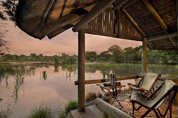 Tanda Tula Safari Camp Deck River View