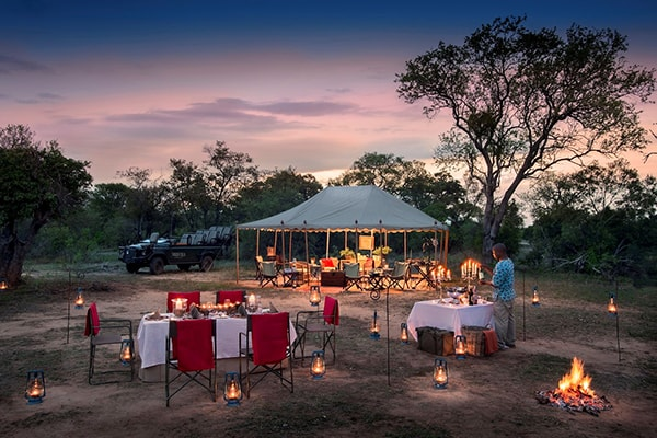 Tanda Tula Safari Camp Evening Dining