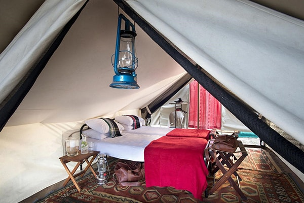 Tanda Tula Safari Camp Tent Beds