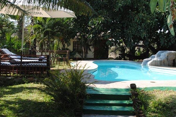 Tremisana Game Lodge Swimming Pool Area