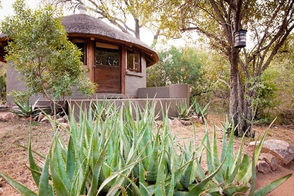 Umlani Bushcamp Eco Hut Exterior View
