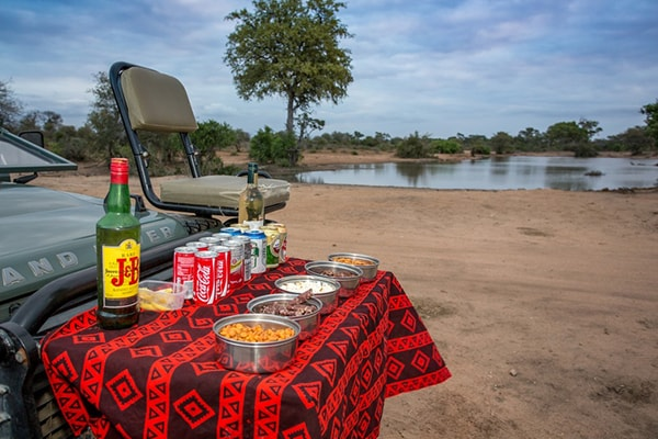 Umlani Bushcamp Game Drive Safari Picnic