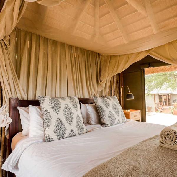 nThambo Tree Camp Treehouse Chalet Bedroom